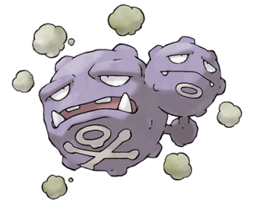 Pokemon 110 Weezing