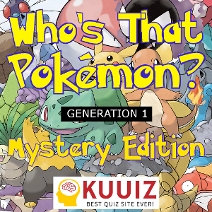 Whos That Pokemon Cover Mystery Edition