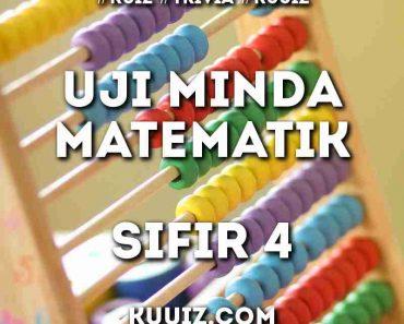 Uji Minda Matematik Sifir 4