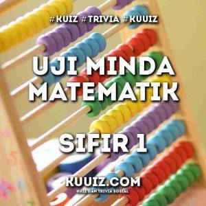 Uji Minda Matematik Sifir 1